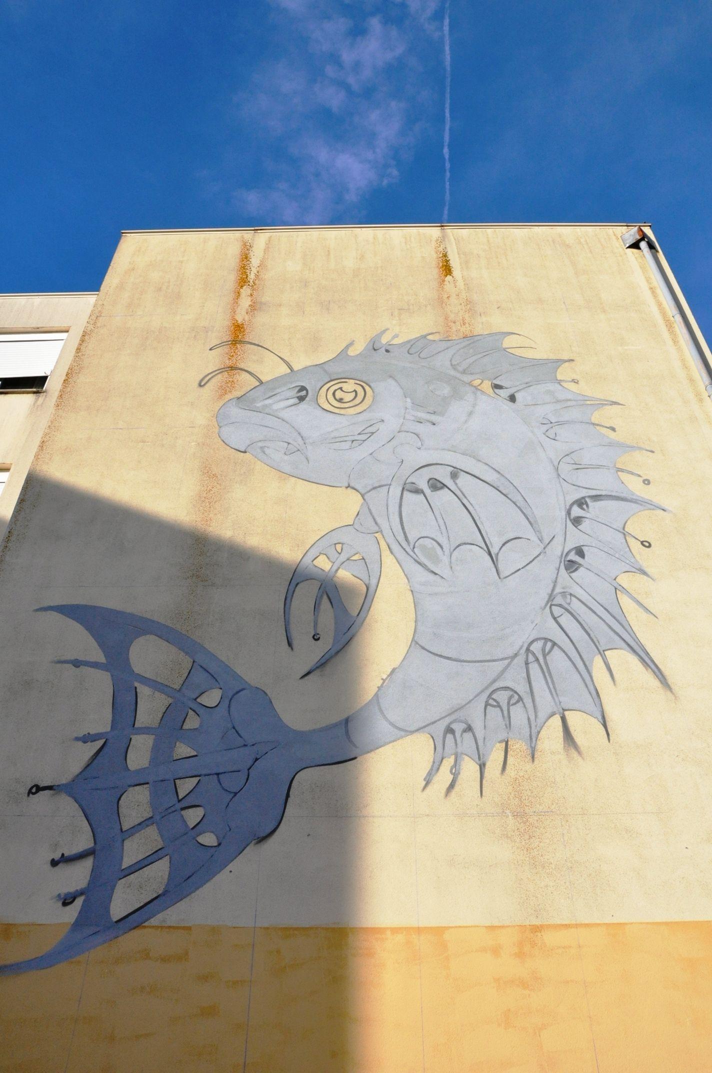 Street Art, Arte Urbana, Graffiti, O Bairro i o Mundo, Quinta do Mocho, Sacavém, Loures, RAF.
