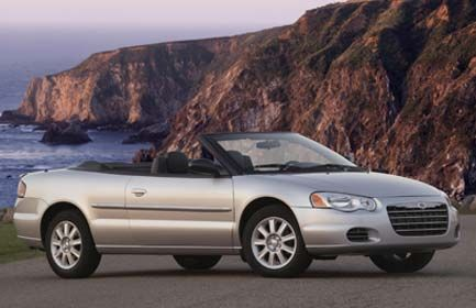 Chrysler Sebring Sebring Convertible Chrysler Sebring Chrysler