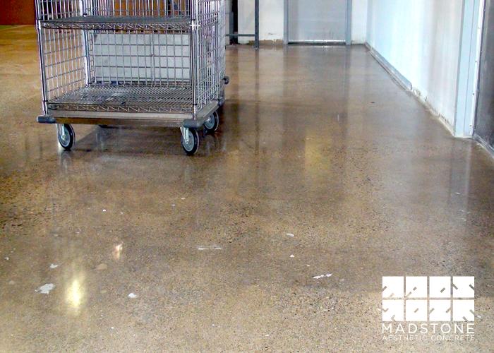 Delightful Concrete Kitchen Floor Ideas Part - 9: Concrete Kitchens | Polished Concrete Floor Kitchen Gallerymadstone Concrete