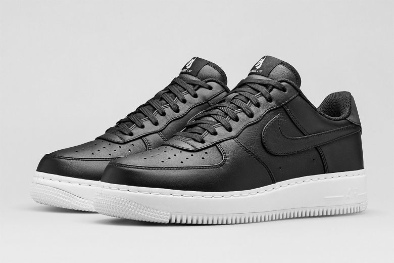 nike mens air force 1 trainers grey\/white hallways