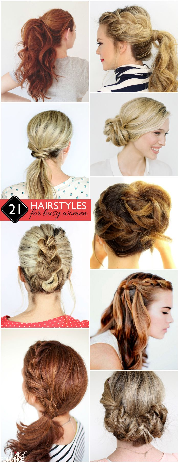 Hairstyles For Busy Women Hair Styles Business Casual Hairstyles Business Hairstyles