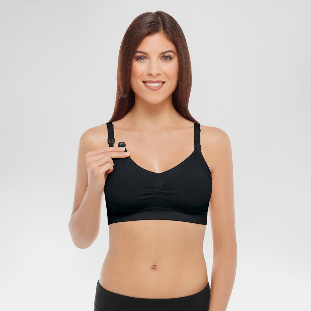 4be7e9ced5 The comfort bra for maternity and nursing features a premium seamless  stretch fabric that offers you ultimate comfort through size fluctuations  Size  S. ...