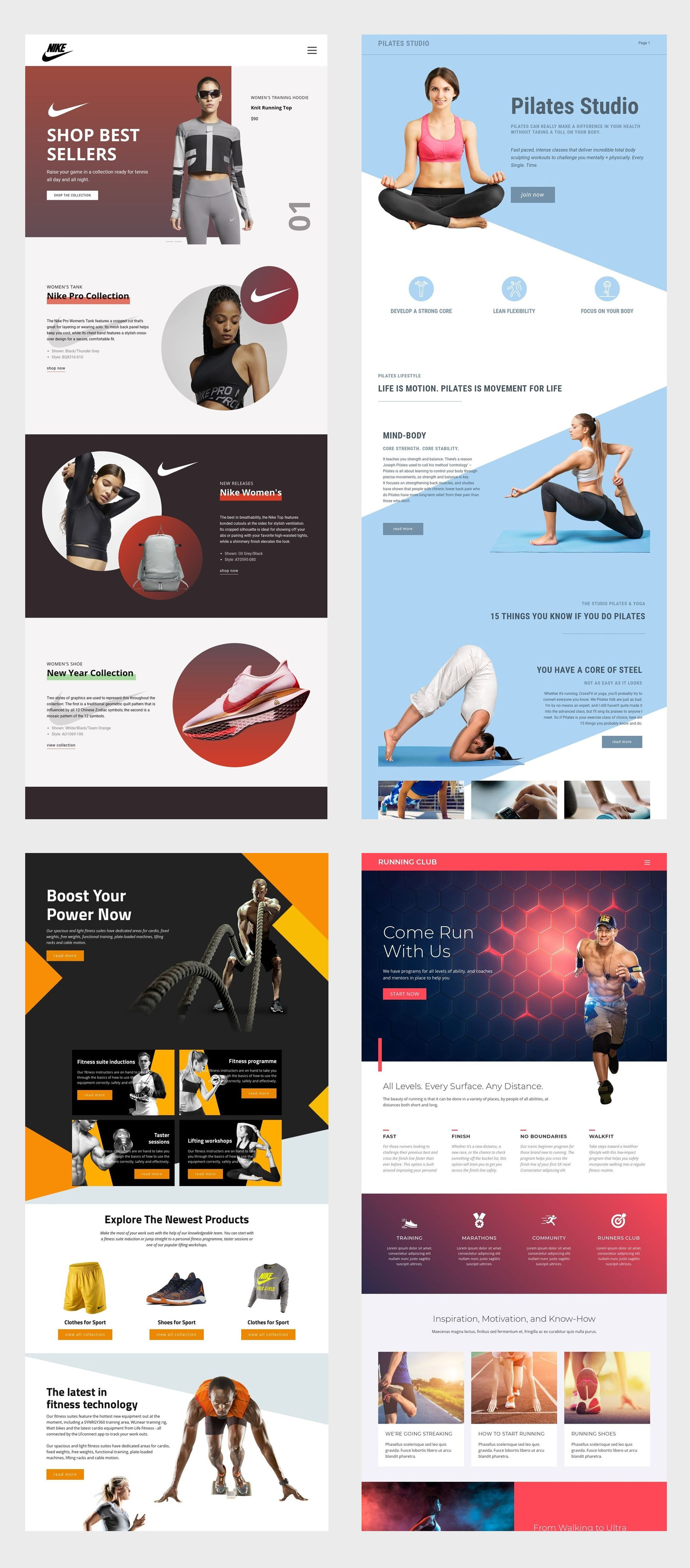 Free Template By Nicepage Builder Diy Website Design Website Design Website Design Layout