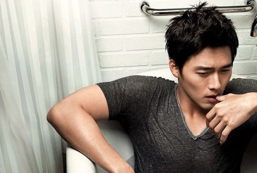 Photo of Hyun Bin is cool!