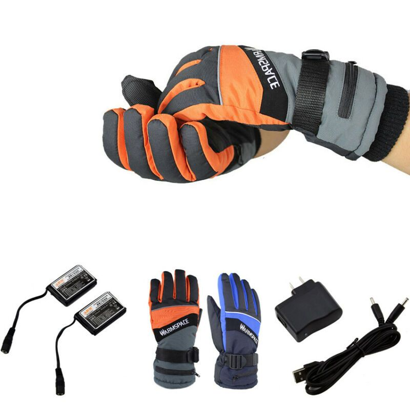 Outdoor Warmer Gloves Electric Heated Battery Power For Motorcycle Men Women S Gloves Mittens Ebay Link In 2020 Warm Gloves Mitten Gloves Gloves