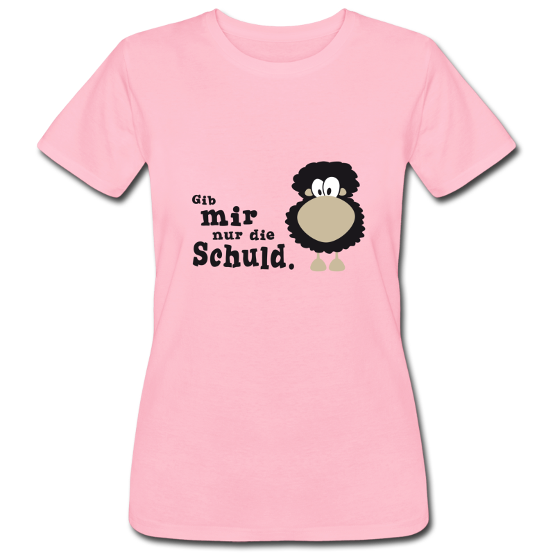 "a40e6ba0a50c64 Werbung / Figur betontes T-Shirt für Frauen, Motiv: ""Gib mir nur die ..."