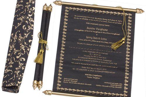 Schön Tolle Idee: Schriftrollen Anstatt Einladungskarten Zur Hochzeit Von RoyalDay
