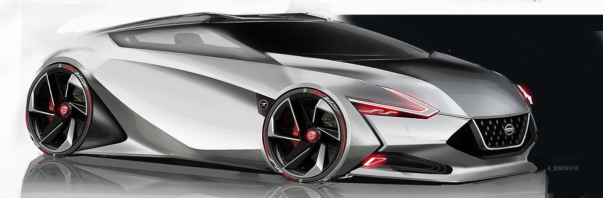 Nissan 390Z on Behance | CarDesign Exterior | 車両, デザイン, カー