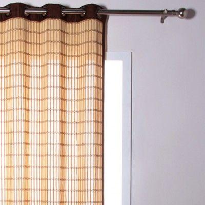 Beata Bamboo Curtain 1 Panel Bamboo Curtains Curtains 1 Panel