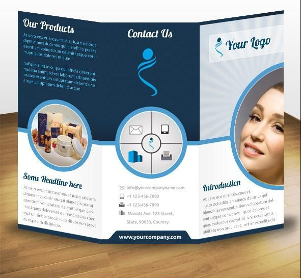 brochure examples tri fold