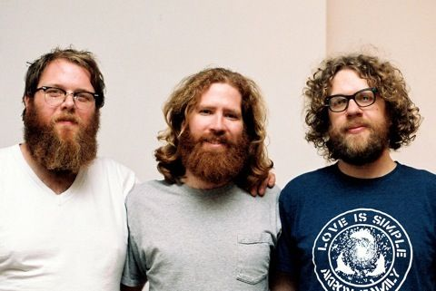 I have no ideas who these guys are, but I'd love to chill with them and their beards.