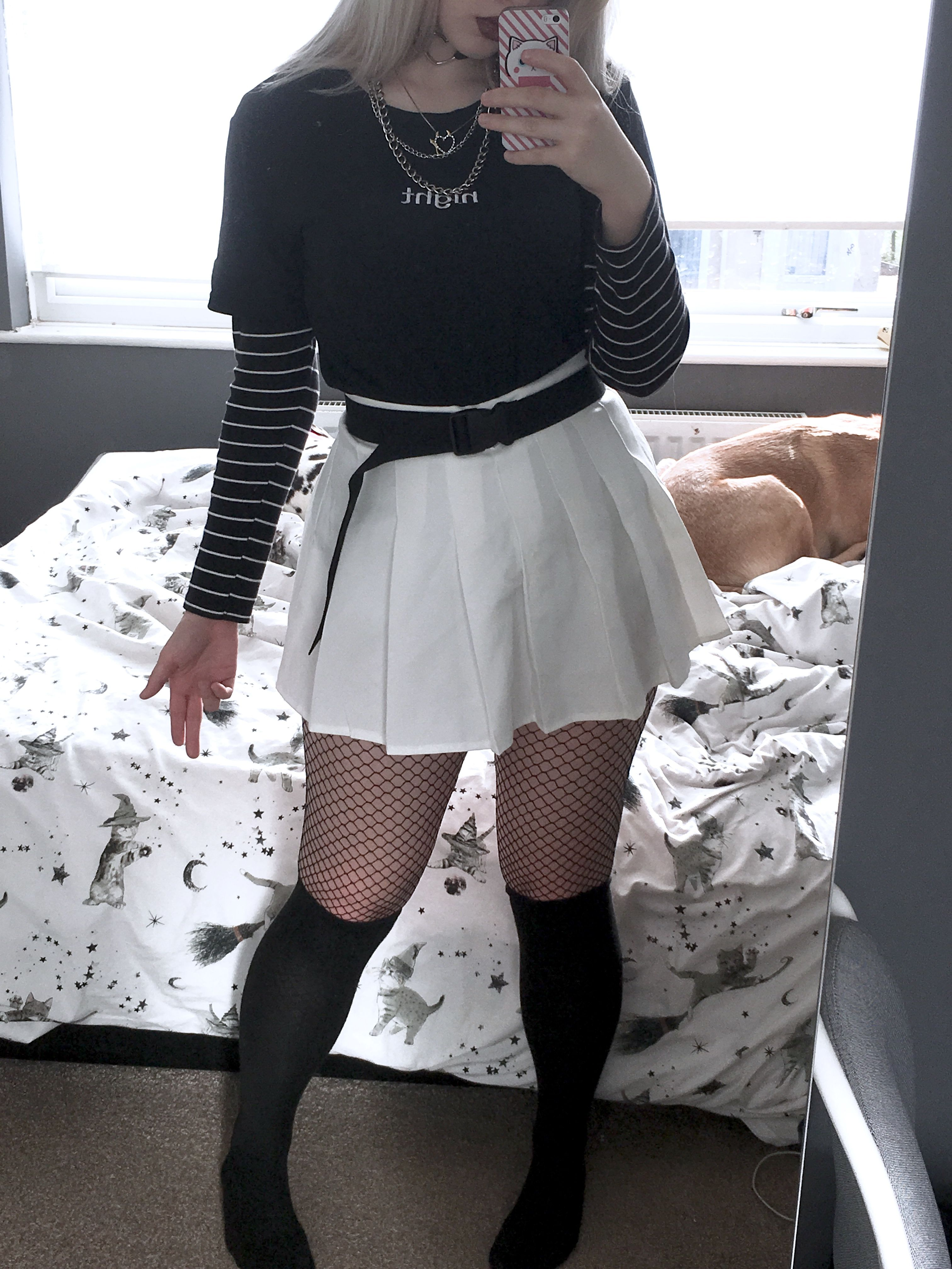 Alternative Outfit In 2020 Alternative Outfits Grunge Skirt Egirl Fashion