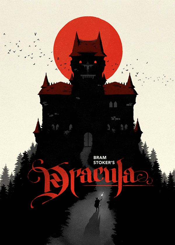 Dracula Book Cover Art : Creative poster book cover illustrations by levente