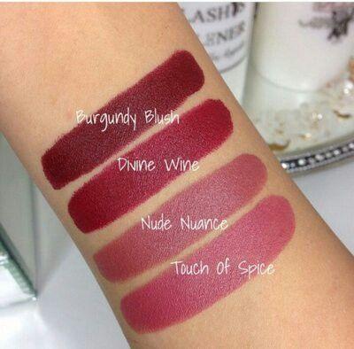 Maybeline colour sensational creamy matte lipsticks