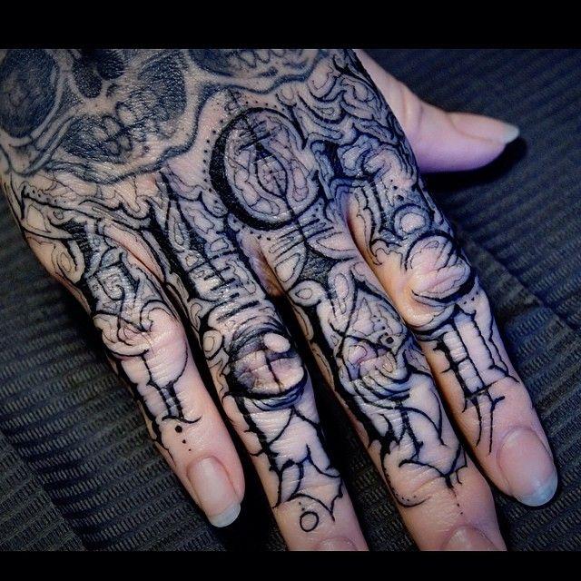Knuckle Tattoo Fonts: Knuckle Tattoos, Writing Tattoos