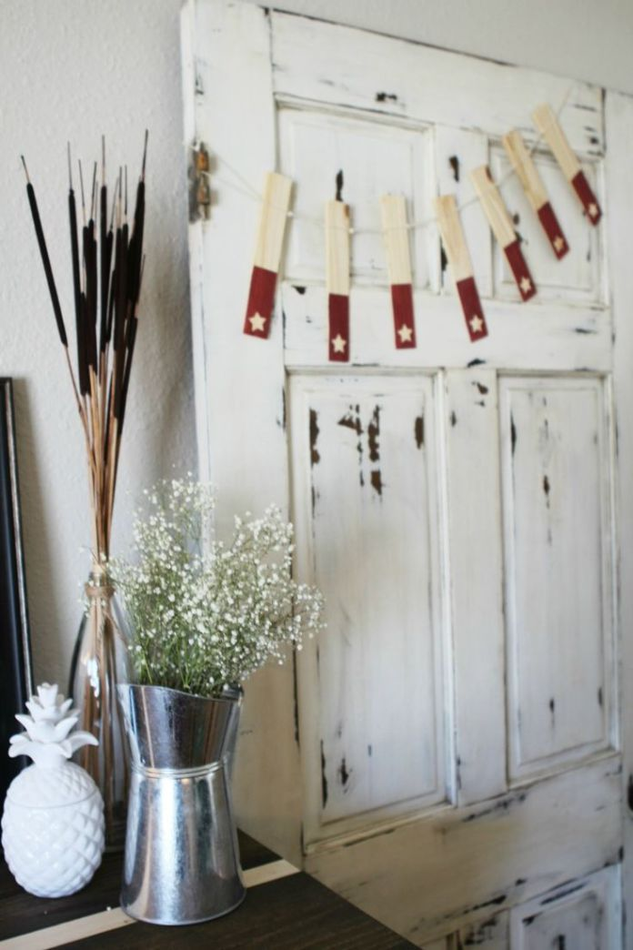 Best Diy Crafts Ideas For Your Home : DIY wood shim star banner ...