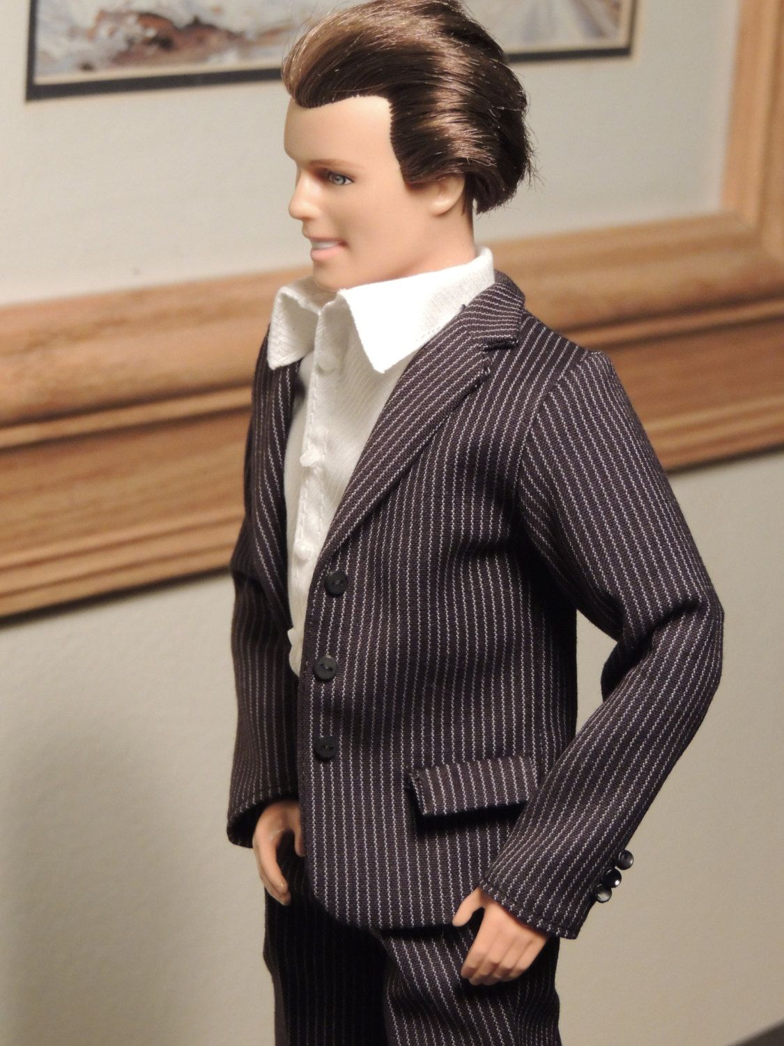 Handmade Ken doll clothes - Business Suit by KCKraftHouse on Etsy