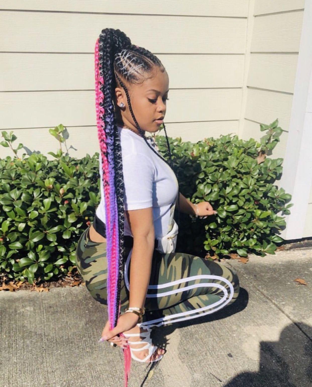 Pin By Wagbedi On Hair Styles Colors Cornrow Hairstyles Black Girl Braided Hairstyles Braided Hairstyles
