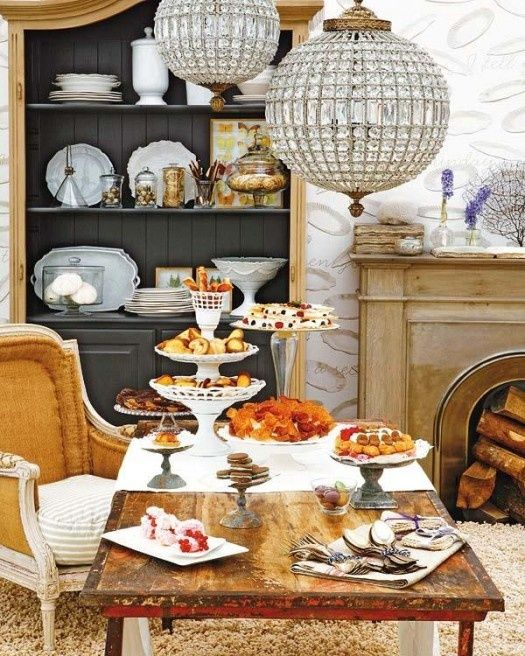 French Rustic Buffet