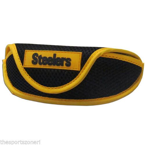 Pittsburgh Steelers Soft Sport Sunglass Case #PittsburghSteelers Visit our website for more: www.thesportszoneri.com