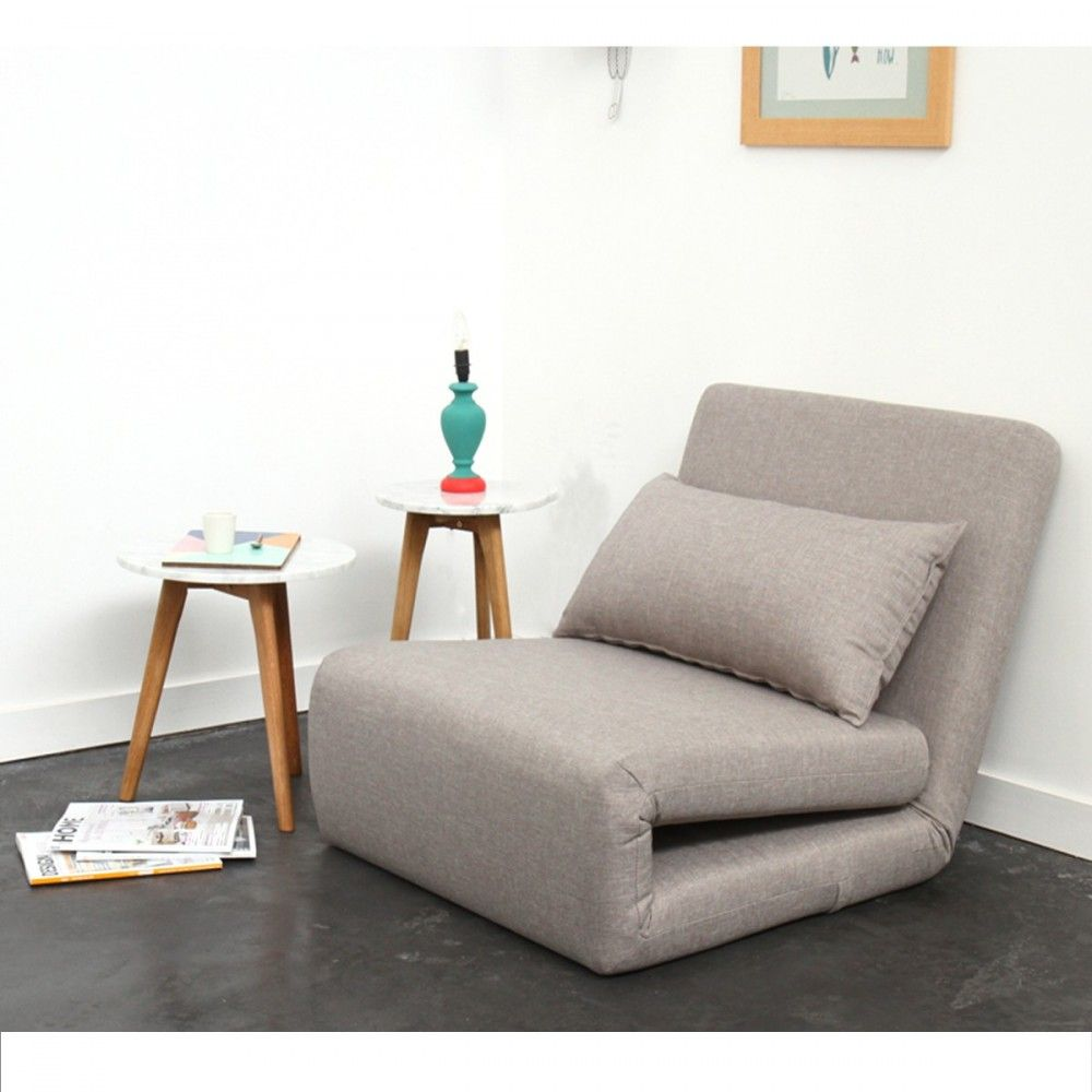 Nalo Chauffeuse Convertible 1 Place En Tissu Fauteuil Convertible Convertible 1 Place Canape En Fer Forge