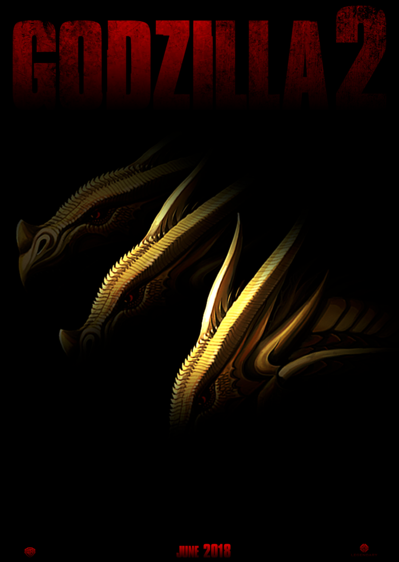Godzilla2 Teaser Poster 7 By Awesomeness360 On Deviantart Kaiju Monsters Cool Monsters Movie Monsters