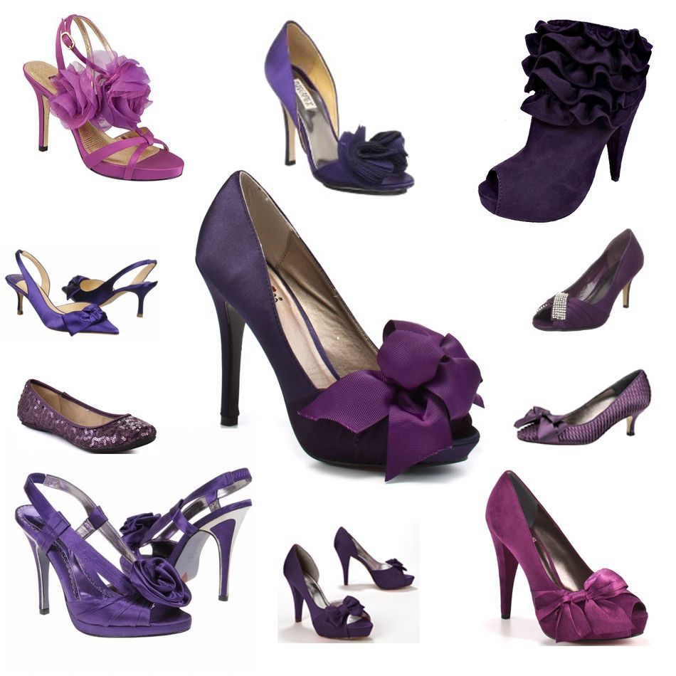 Purple Shoes Purple Wedding Shoes Purple Dress Shoes Purple Heels