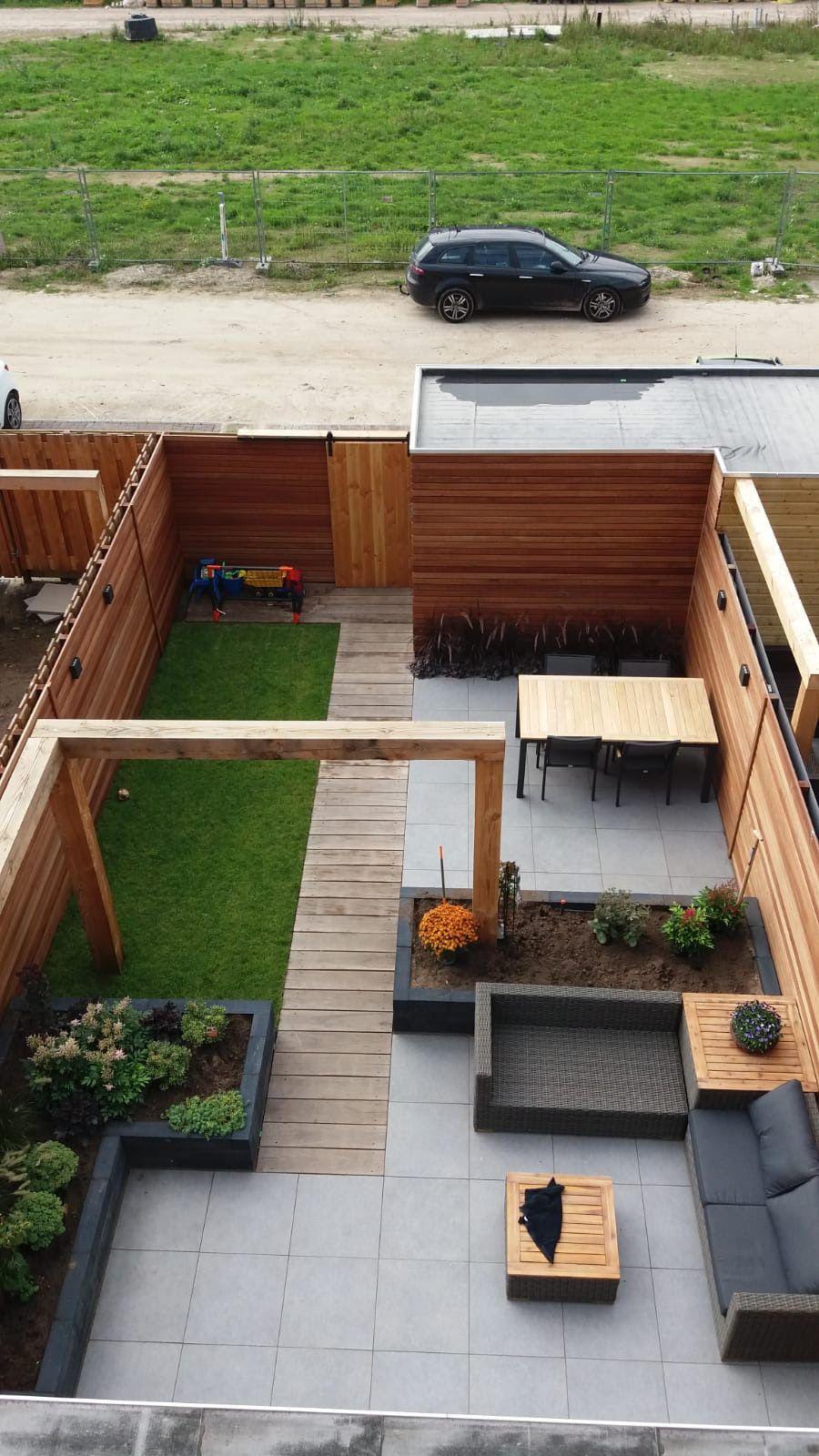 Wonderbaar Deze tuin is gecreëerd met Rhombus! 😍 Rhombus profielen zijn OJ-27