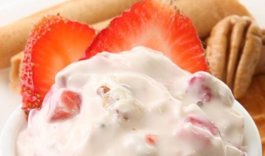 Florida Strawberry Cheesecake Dip