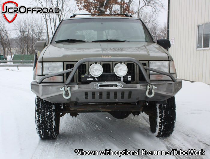 Diy Front Winch Bumper Zj Cherokee Jeephut Jeep Grand