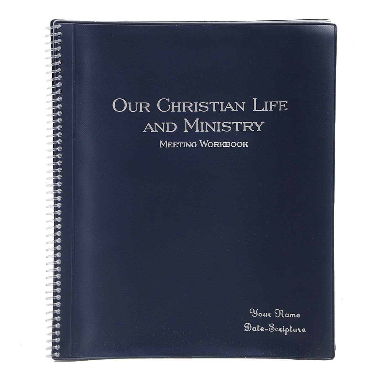 Our Christian Life and Ministry Workbook Spiral Holders ...