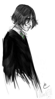 Young Severus Snape, by Makani