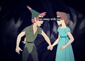 Peter Pan and Wendy run away with me   Peter Pan: Run Away With Me
