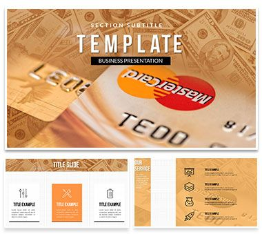 mastercard credit card powerpoint template powerpoint templates