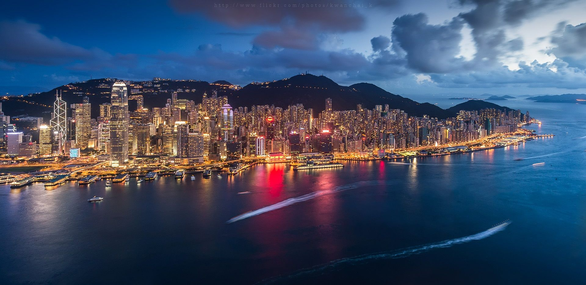Victoria Harbour,Hong Kong