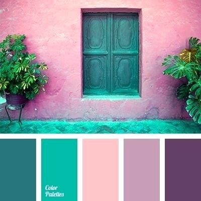 mesmerizing turquoise color scheme gray sea green pink and ...