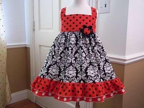 Klos Etekli Kolay Kiz Cocuk Elbise Dikimi Modeli Kiz Cocuklar Elbise Kizlar