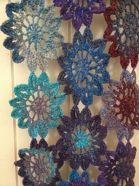 Ravelry Project Gallery For Crochet Japanese Flower Pattern By