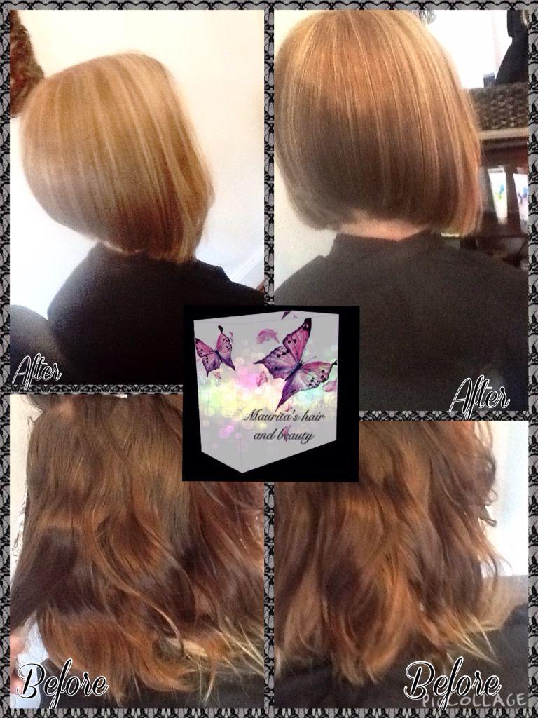 Haircolour Haircut And Style Thank You Hair Design By