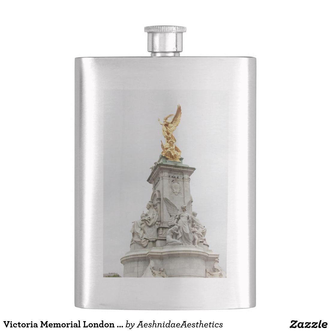 Victoria Memorial London UK Hip Flasks