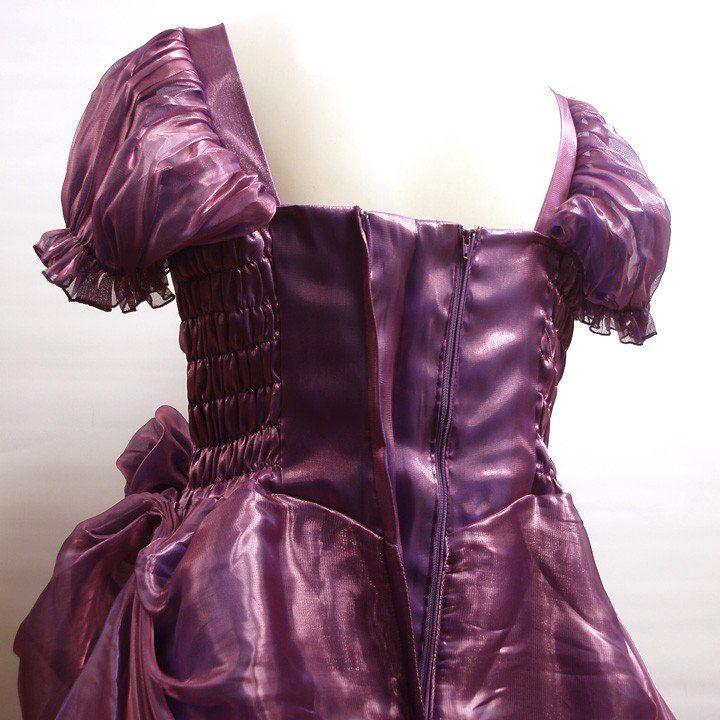 16a13006ff395 カラードレス ロングドレス 大きいサイズ カラオケドレス ステージ 半袖 11号〜17号サイズ