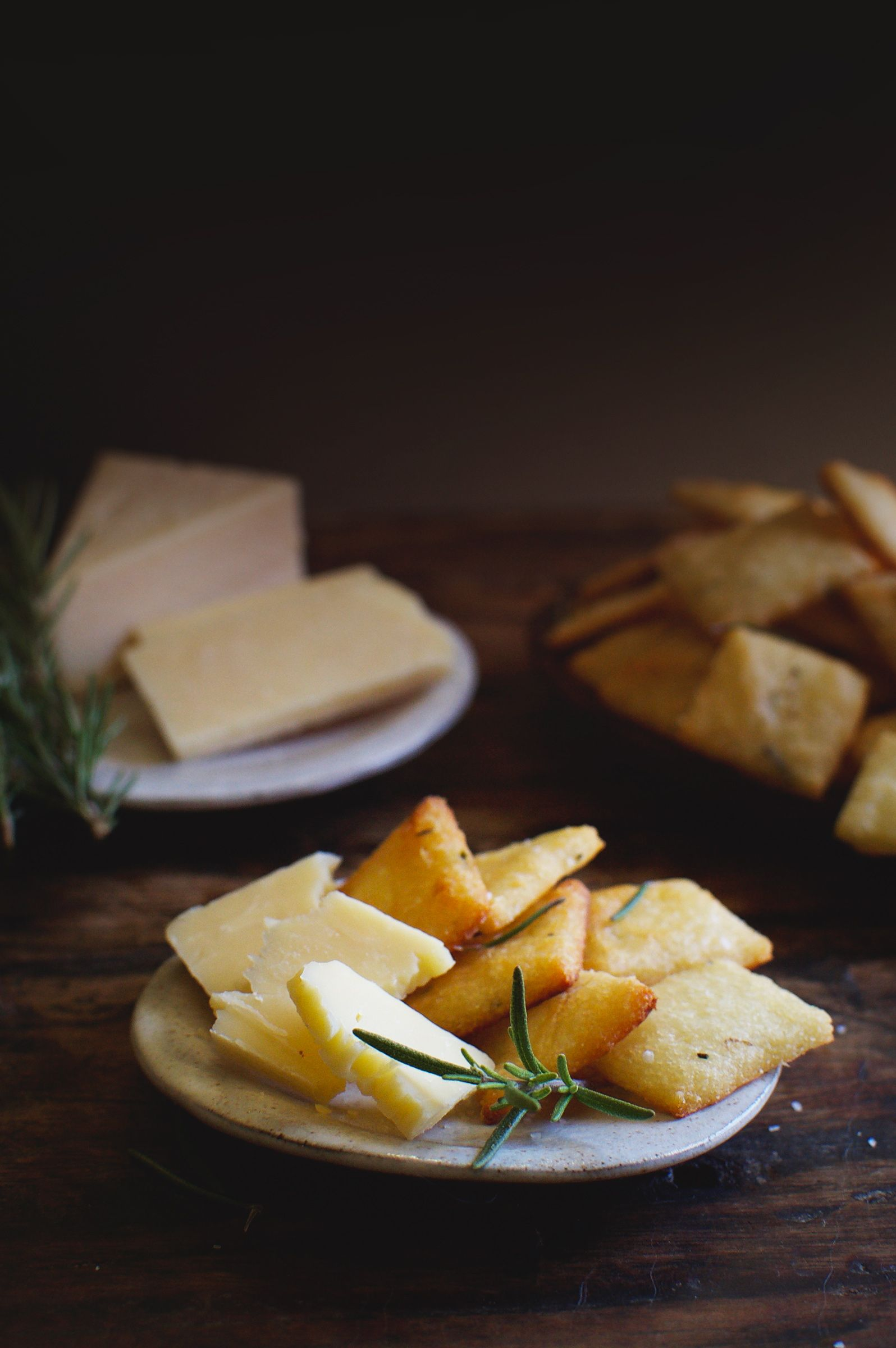 Low Carb Rosemary Parmesan Crackers Recipe Low Carb Recipes