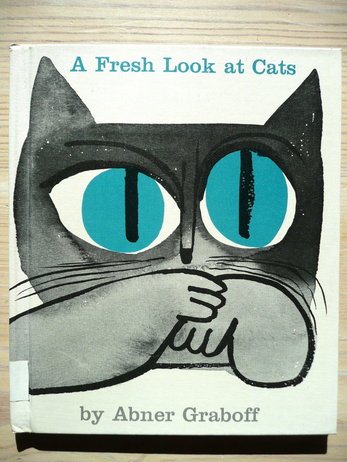 A fresh Look at Cats by Abner Graboff via Stickers and Stuff