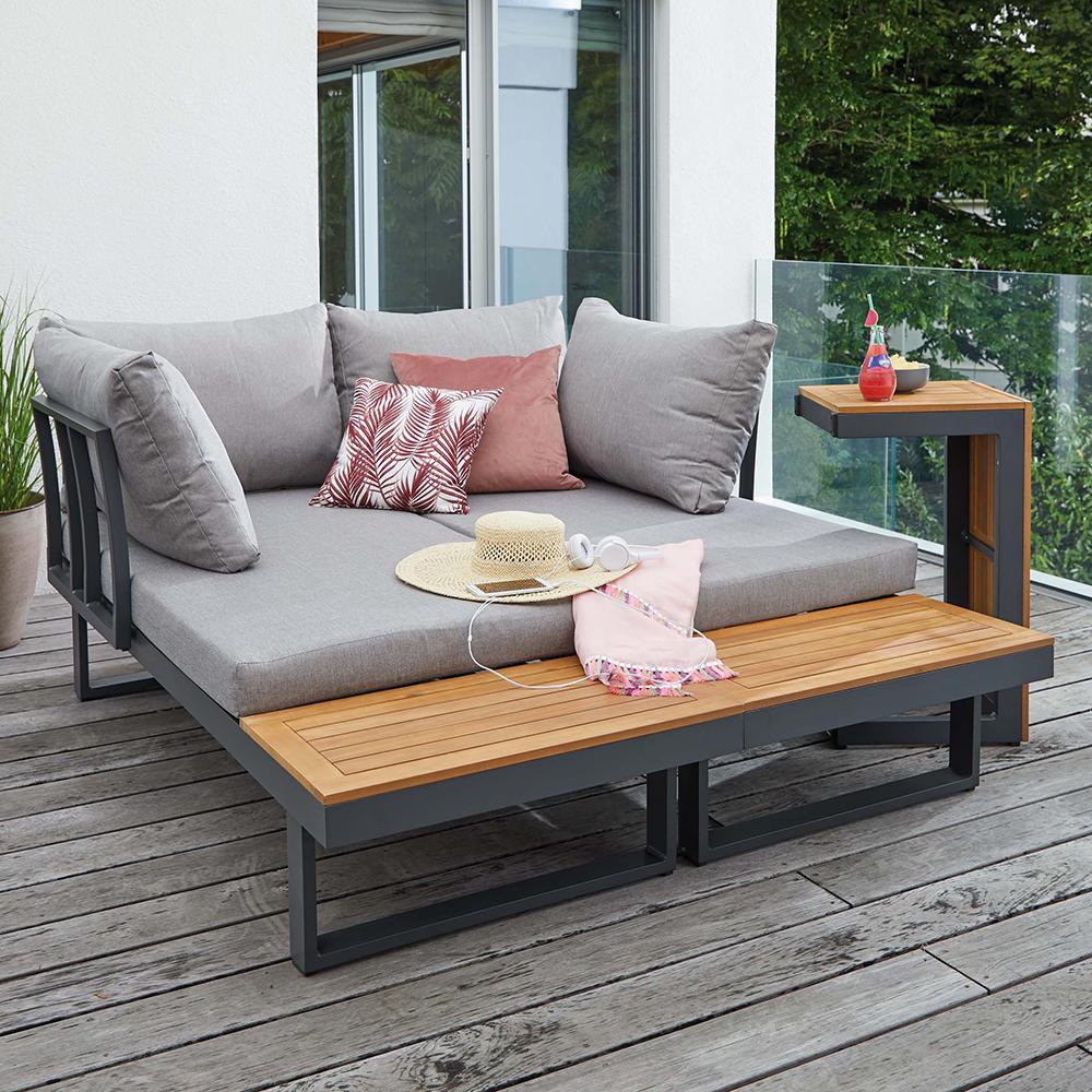 Terrassengestaltung Mit Kika At In 2021 Outdoor Sofa Sets Garten Lounge Balkonmobel