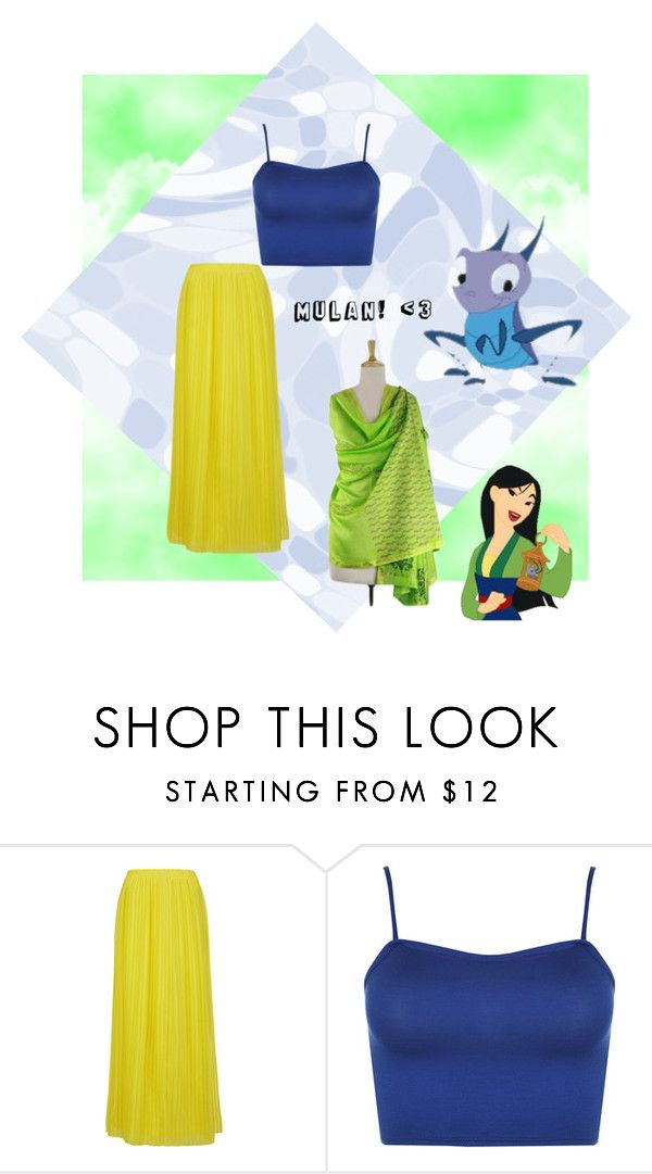 """""""Mulan"""" by brittneycool10 on Polyvore featuring BOSS Orange, WearAll and NOVICA"""