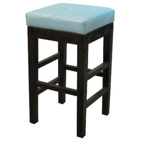 Walmart New Pacific Direct 1086313632 Valencia Backless Leather Entrancing Walmart Kitchen Stools Design Decoration