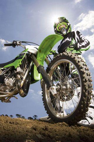 Kawasaki Klx 250 3 Android Wallpapers Hd Motocross Bike Pic Dirtbikes Bike wallpapers for android on