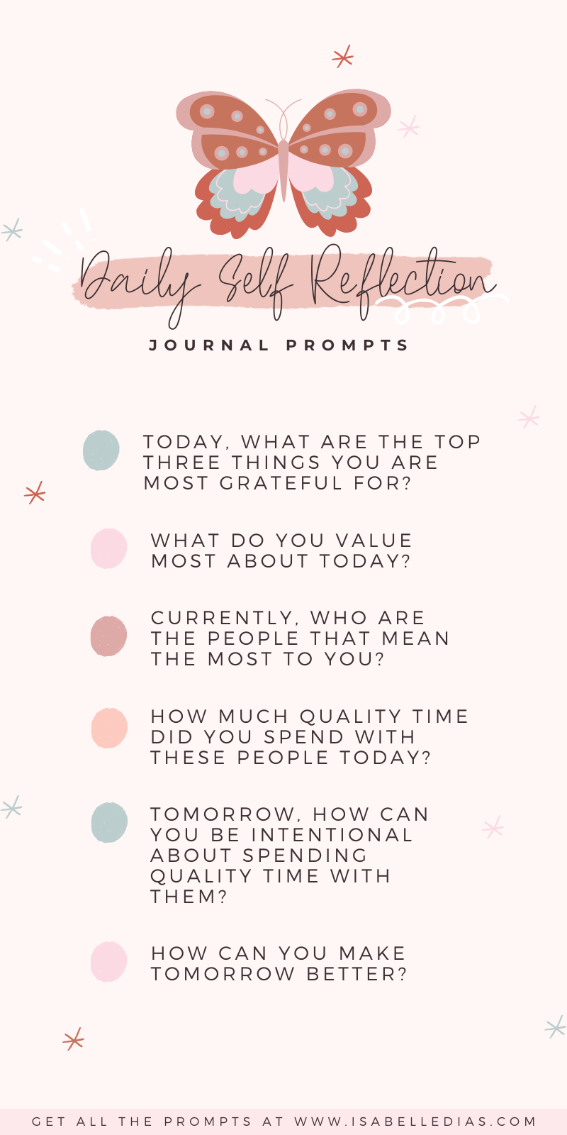 How to use journal prompts to find yourself, you ask? The best place to start is with those self awareness and self reflection daily positive journal prompts! Crafted with love for women who are ready to invest in self discovery personal development.