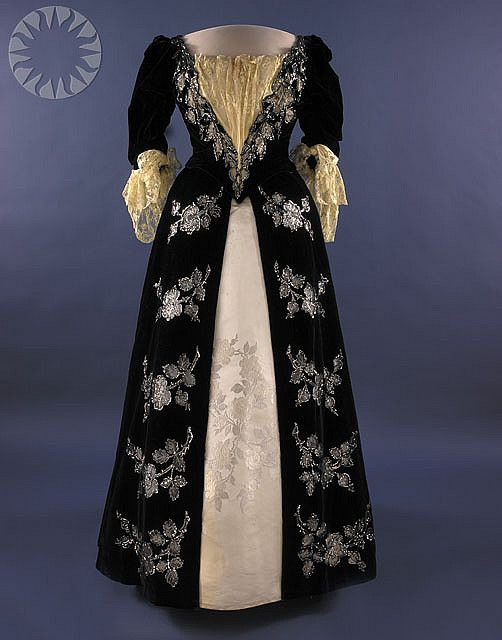 First Lady Harriet Lane Johnston\'s Inaugural Gown | Pinterest ...