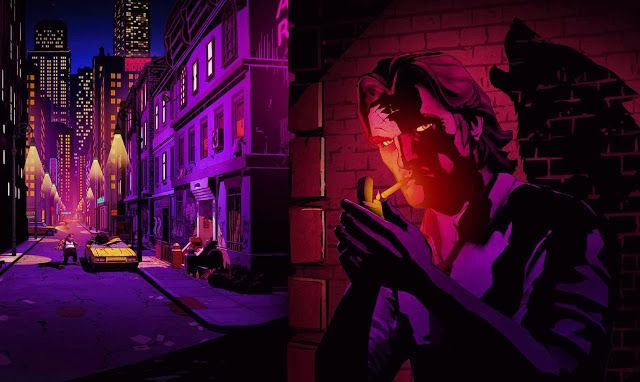 The Wolf Among Us Logo The Wolf Among Us Fables Comic Wolf